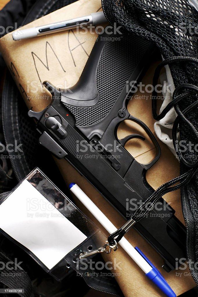 School Violence royalty-free stock photo