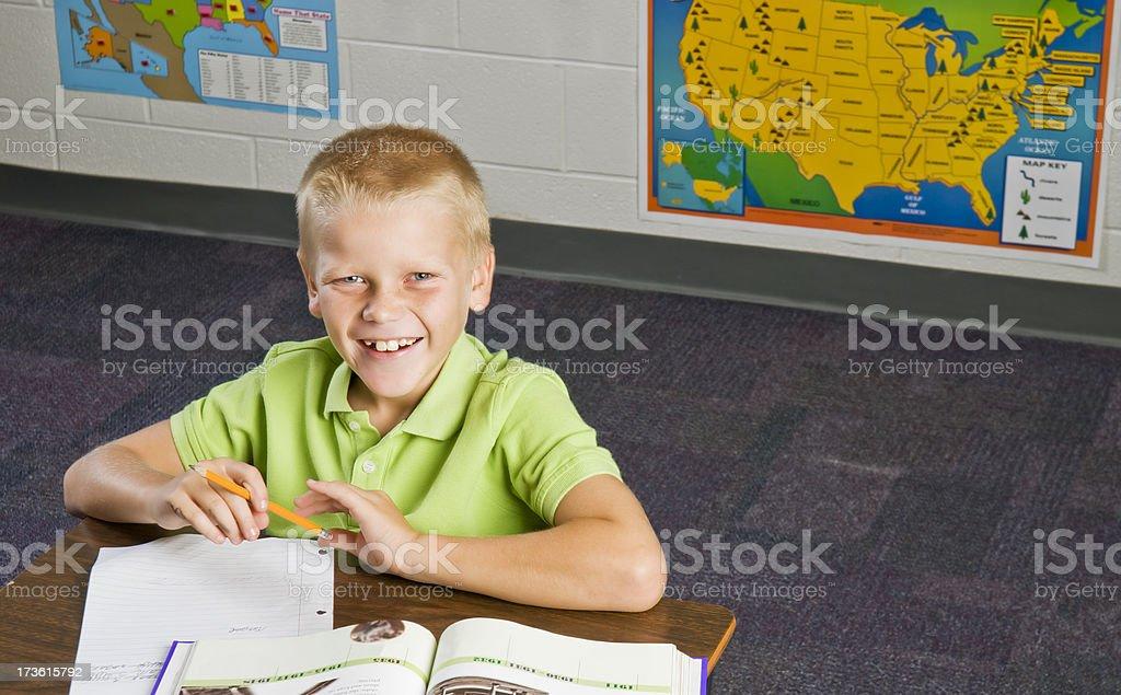 Schule Arbeit Lizenzfreies stock-foto