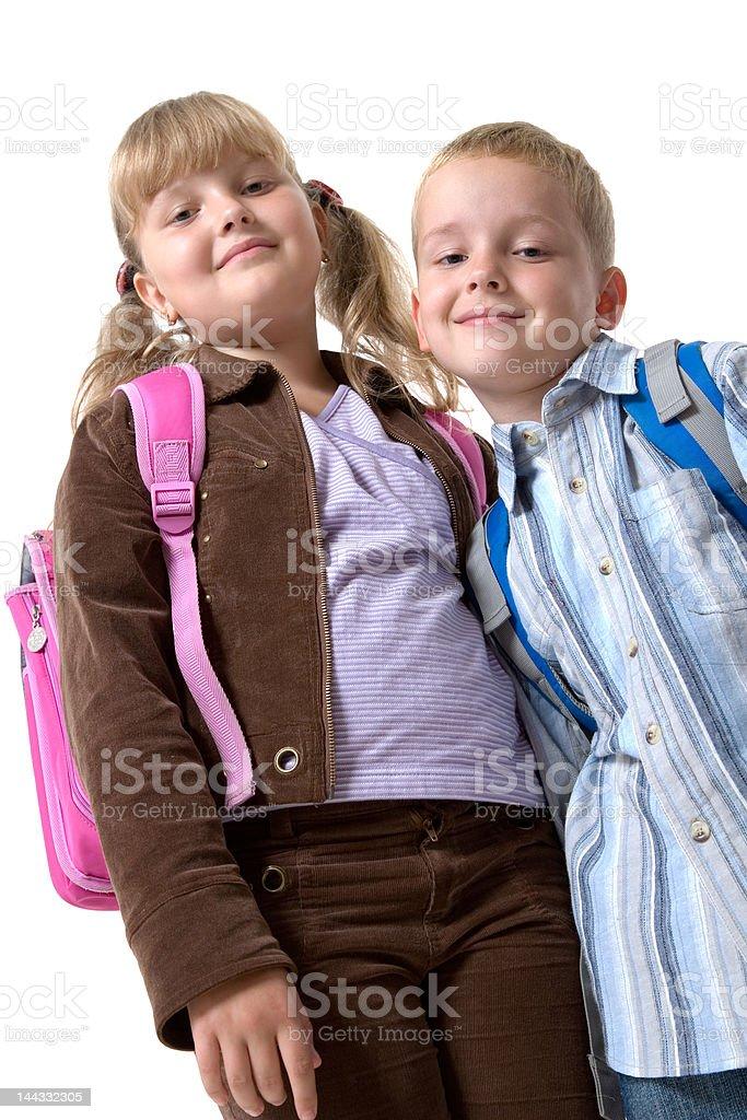 schooldays stock photo