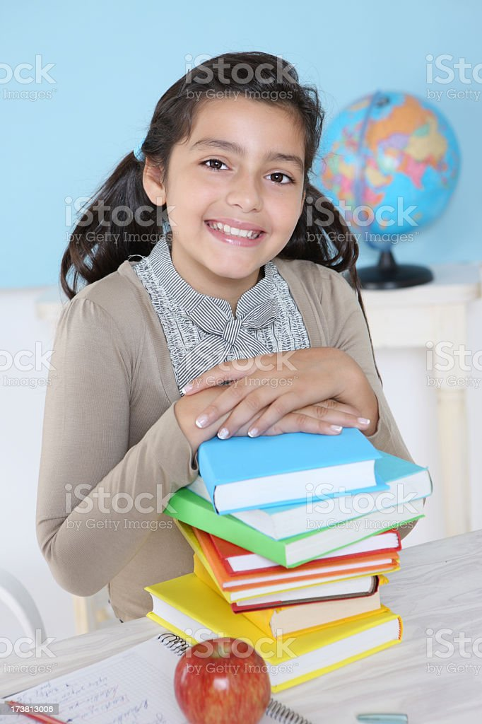 Schoolgirl royalty-free stock photo