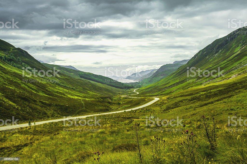 Schottischer Highlands Achnasheen stock photo