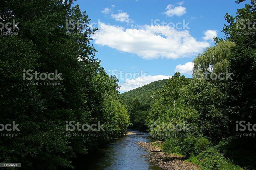 Schuylkill River stock photo