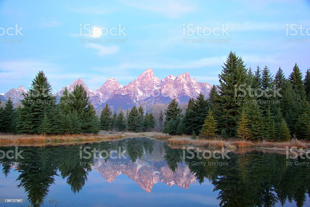 Schwabacher's Landing stock photo