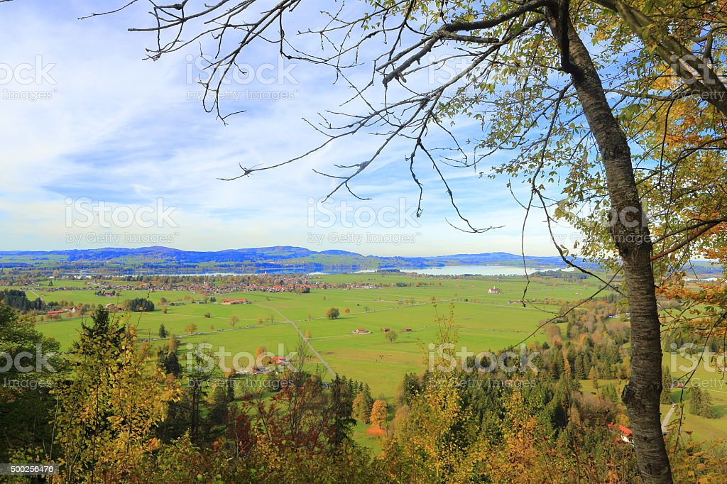 Schwangau Village stock photo