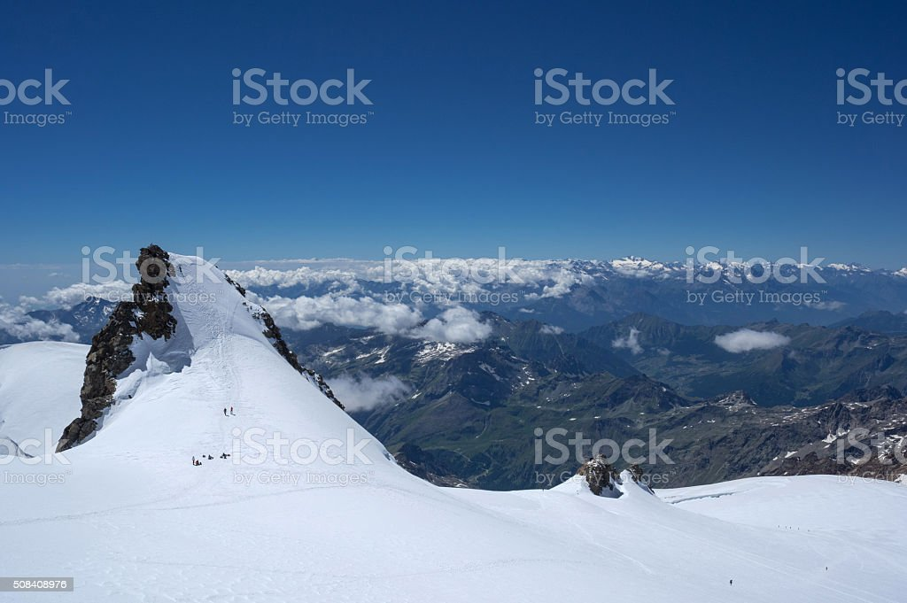 schwarzhorn stock photo