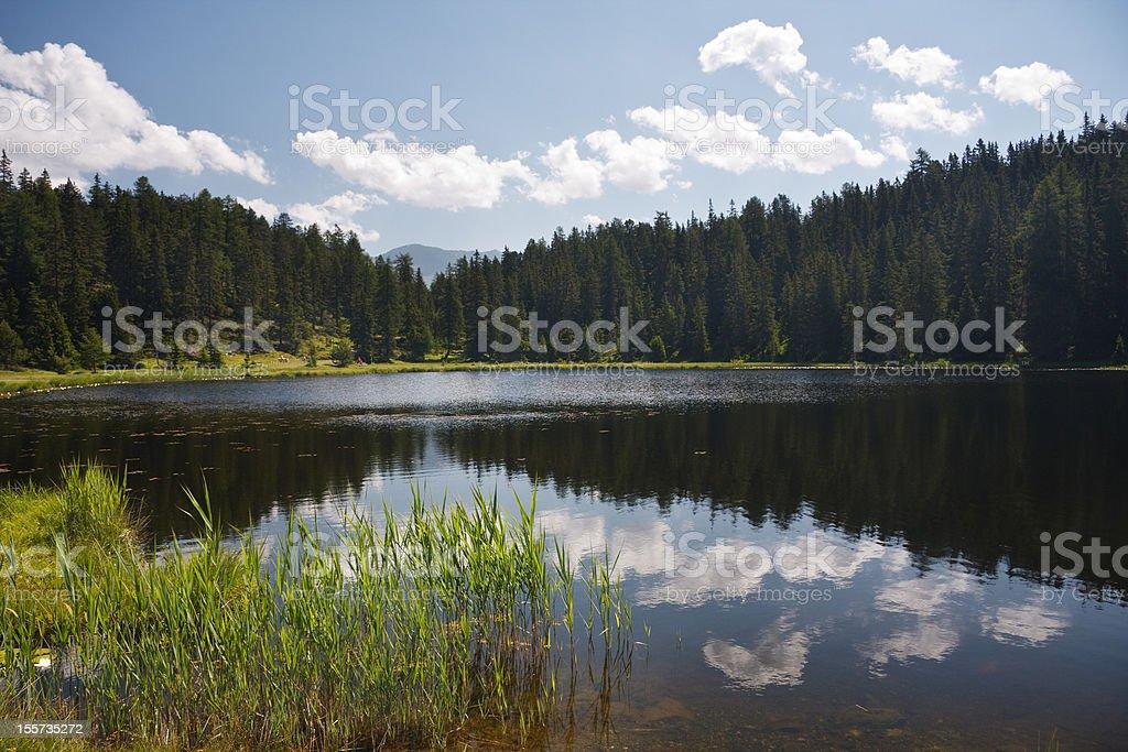 Schwarzsee, Austria royalty-free stock photo