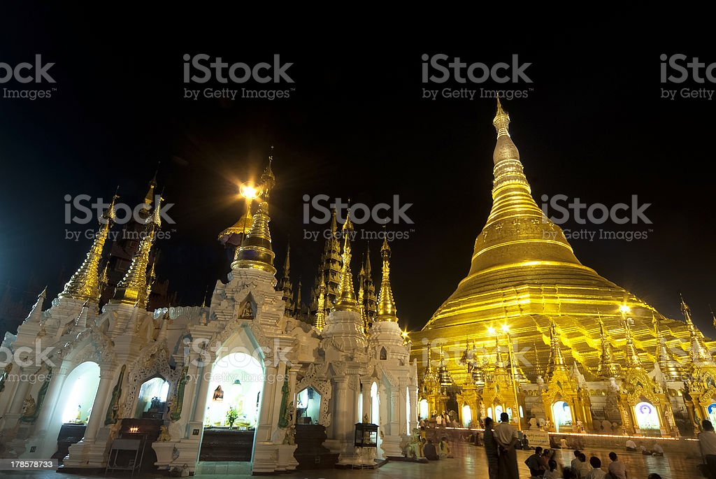 Schwedagon Pagoda royalty-free stock photo