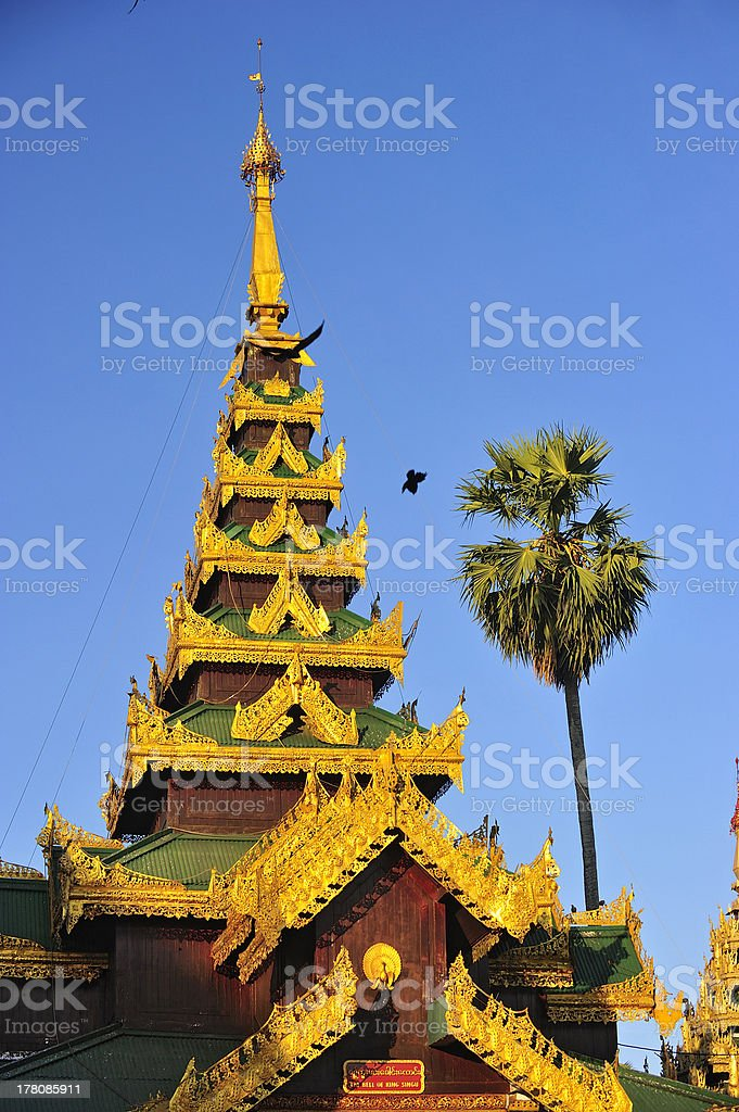 Schwedagon Paya,Yangon,Burma stock photo