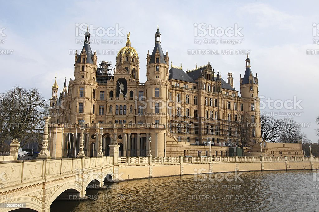 Schwerin Castle royalty-free stock photo