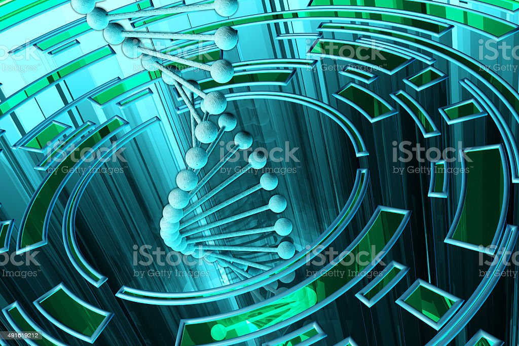 Science and technology background stock photo