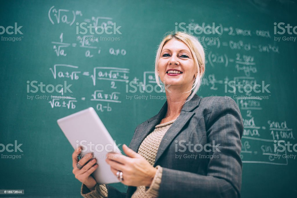 Science and technology concept in classroom stock photo