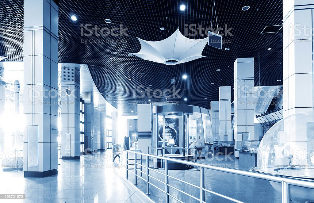 Science and Technology Museum (Indoor) stock photo