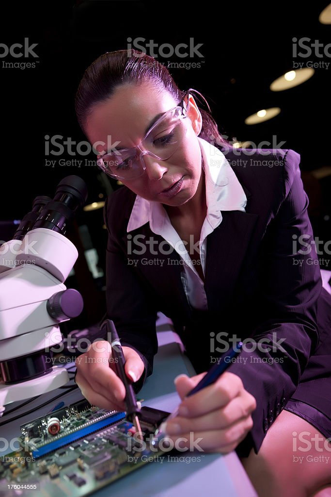 Science and Technology royalty-free stock photo