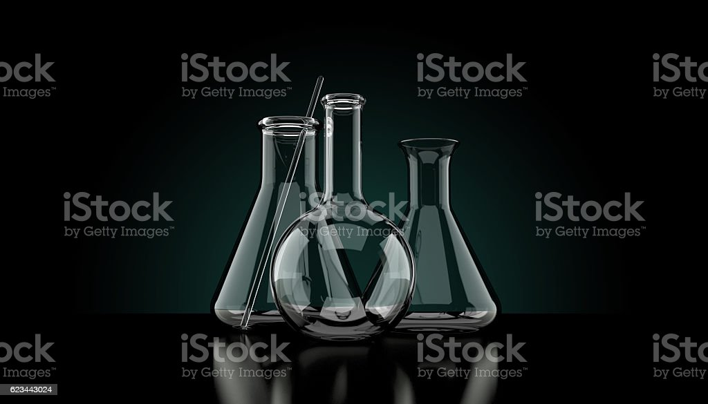 Science concept stock photo