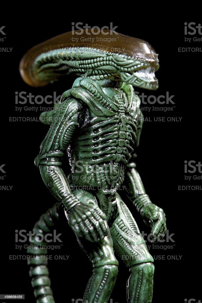 Science Fiction Killer royalty-free stock photo