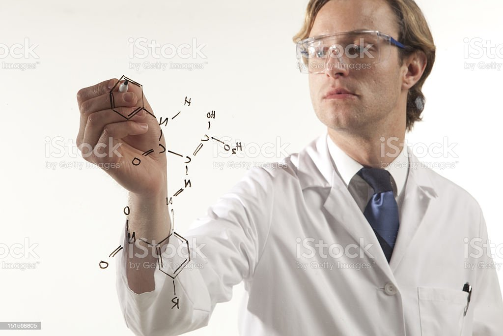 Science in focus royalty-free stock photo