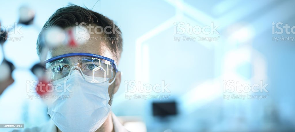 Science Lab stock photo