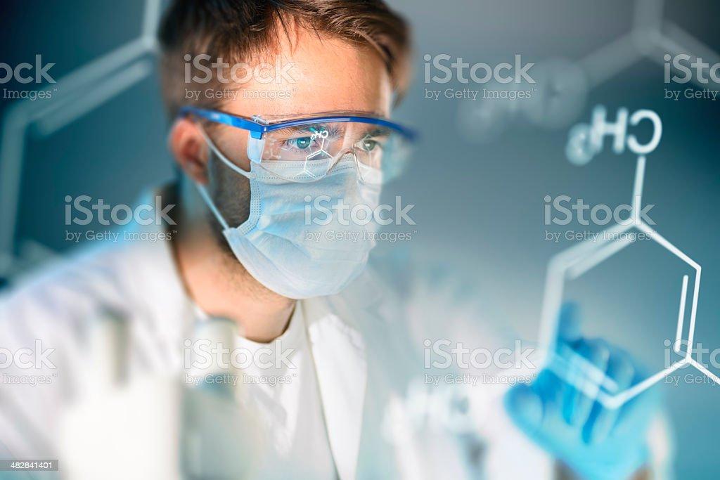 Science Lab stock photo