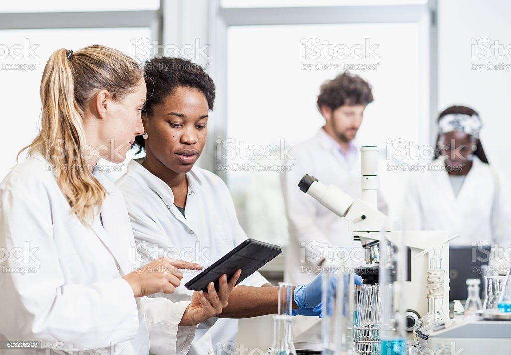 Science Laboratory stock photo
