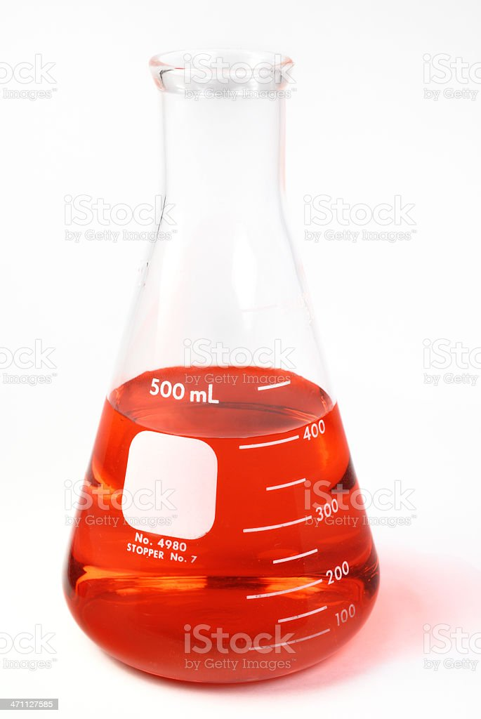 Science Labware royalty-free stock photo