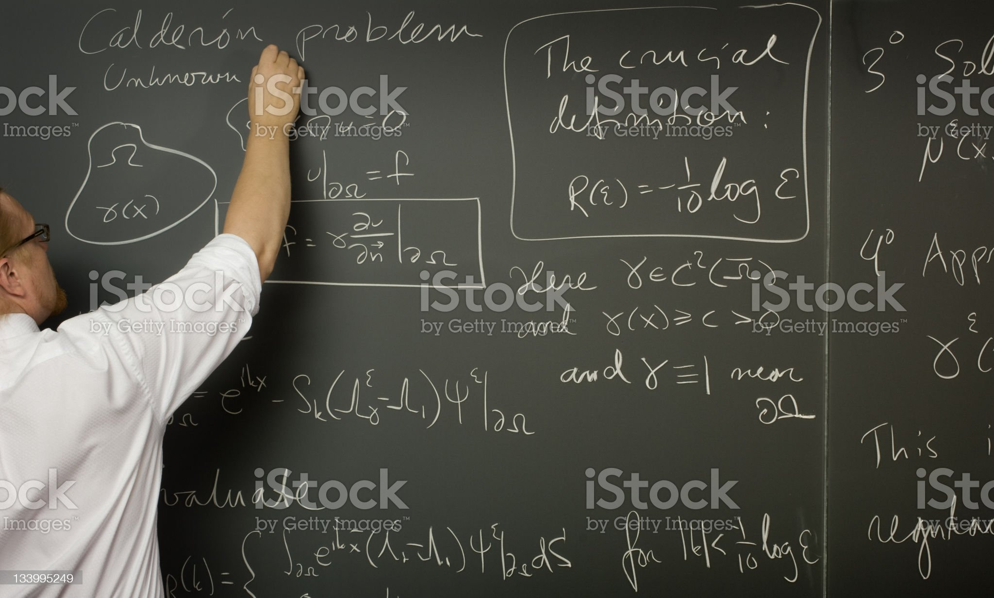 Science Lecture royalty-free stock photo
