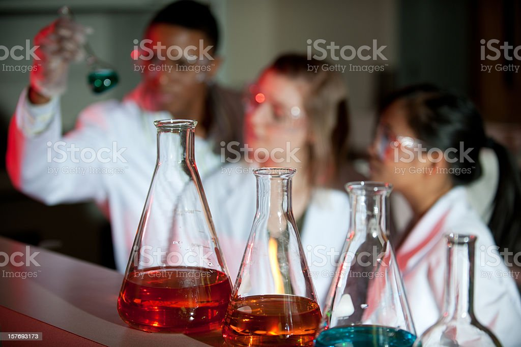 Science Research royalty-free stock photo