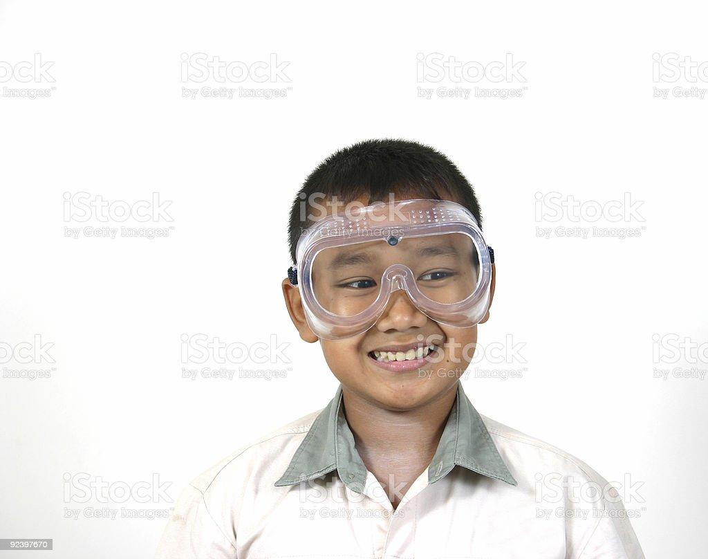 science safety 2 royalty-free stock photo