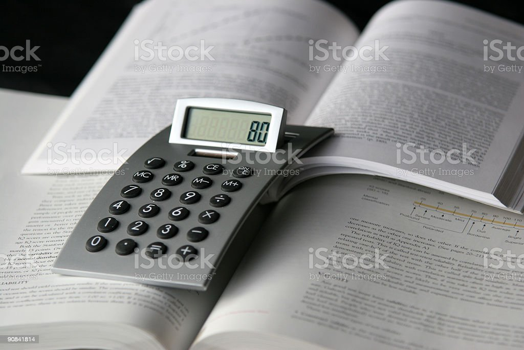 Science study stock photo
