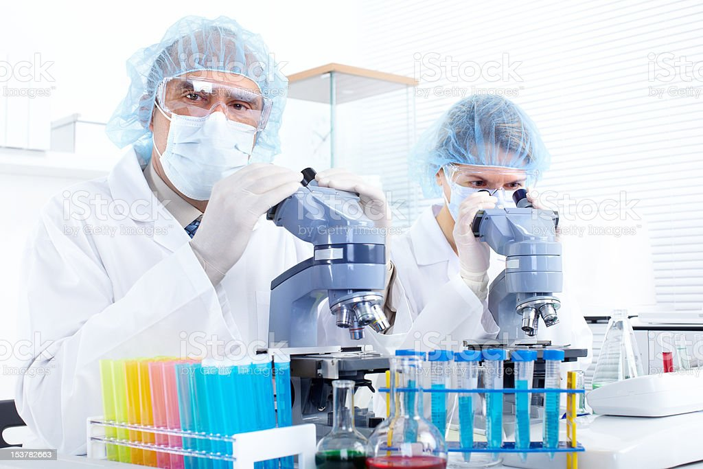 Science Team royalty-free stock photo