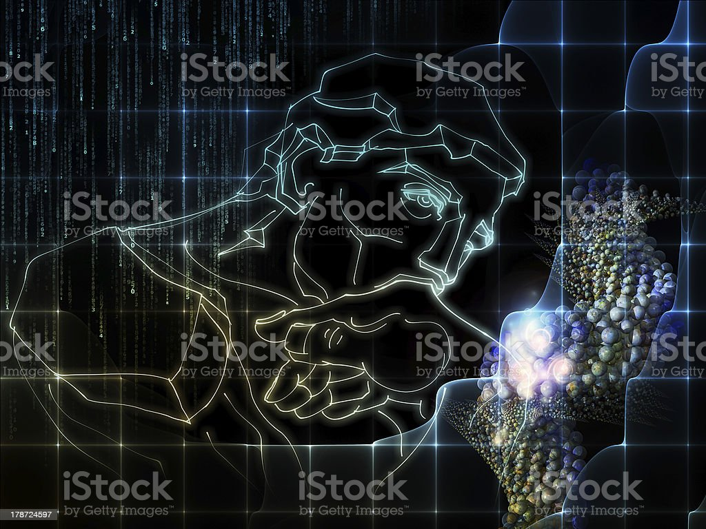Science Thinking royalty-free stock photo