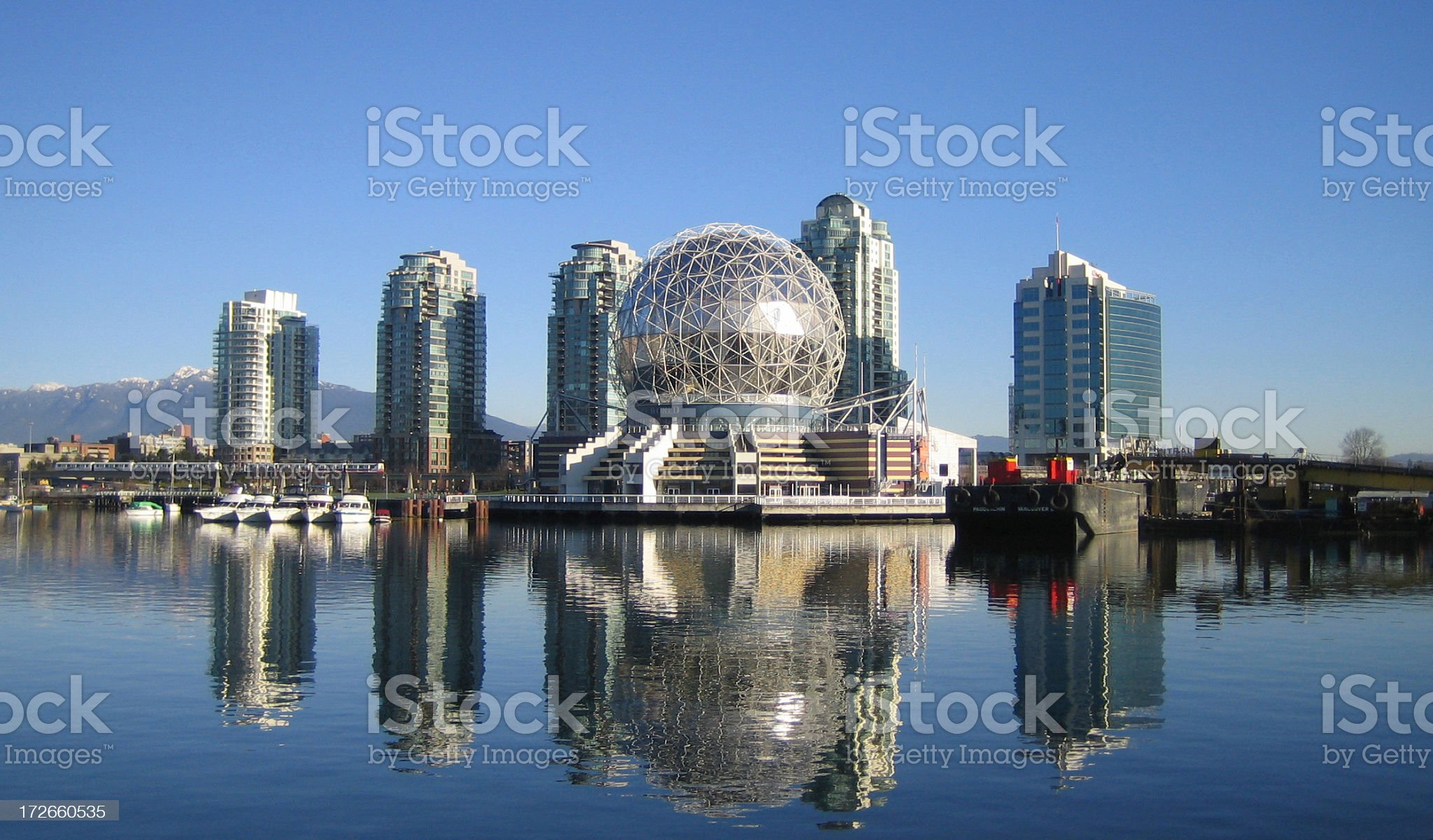 Science World Dome royalty-free stock photo