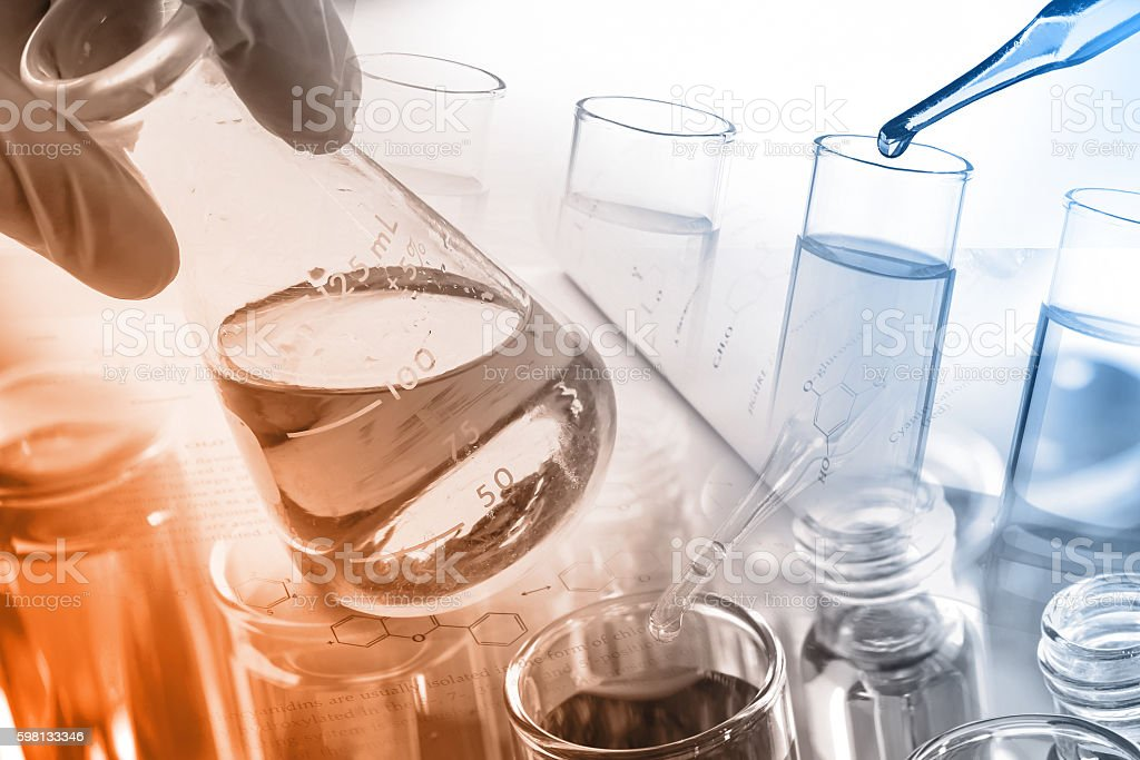 Science/Chemical Concept stock photo