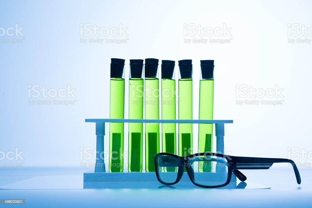 Scientific analysis stock photo