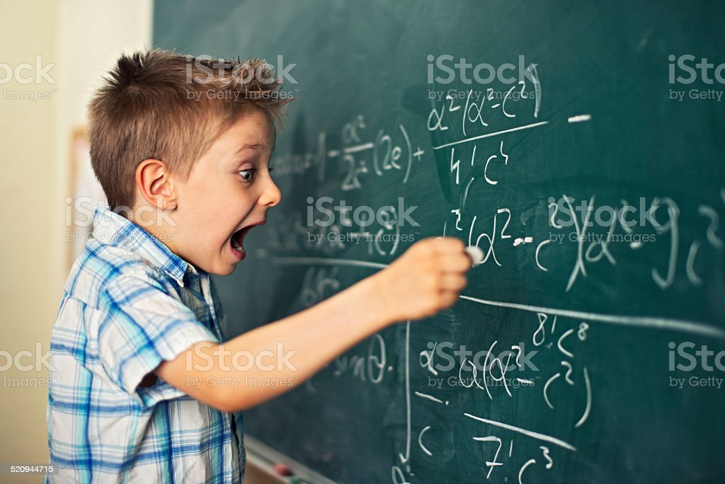 Scientific breakthrough stock photo