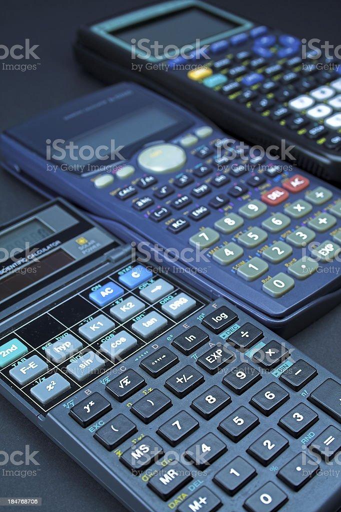 Scientific Calculators royalty-free stock photo