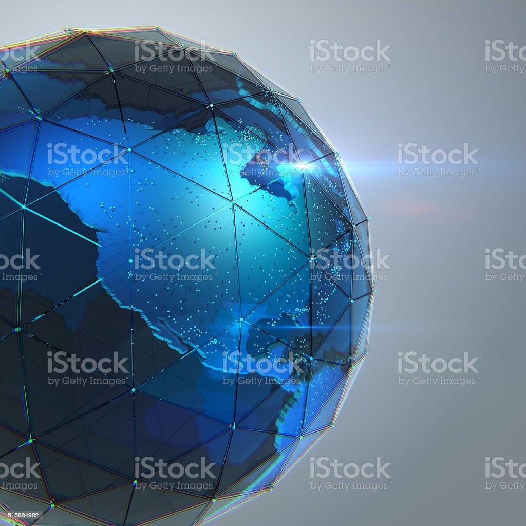 Scientific data stock photo