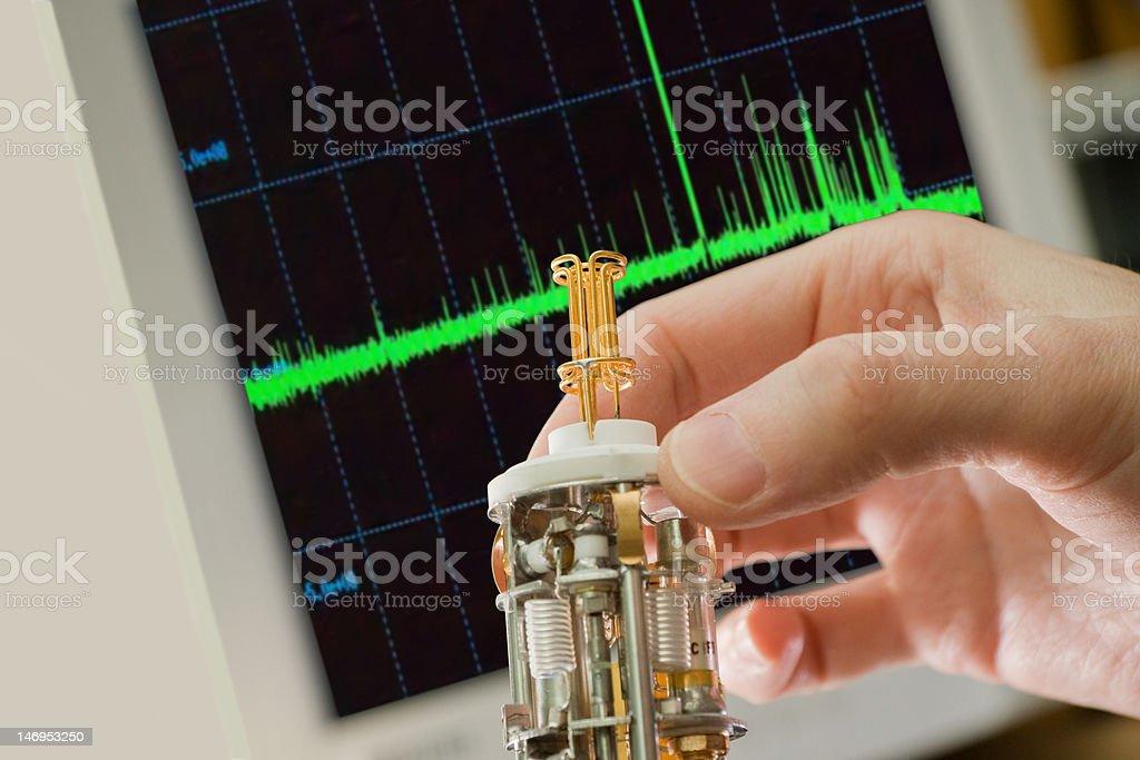 scientific device stock photo