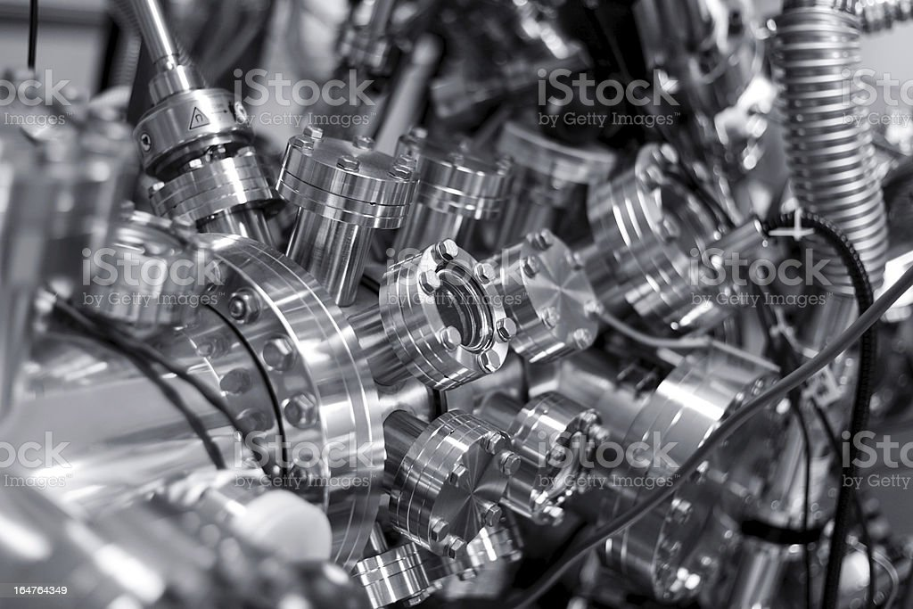 Scientific equipment stock photo