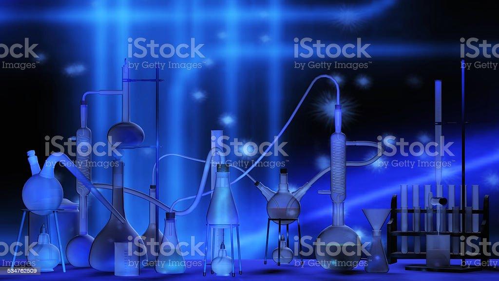 Scientific Laboratory stock photo