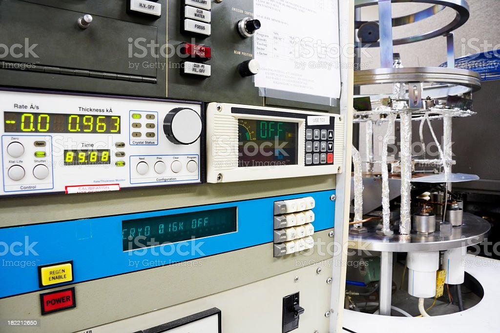 Scientific laboratory testing equipment royalty-free stock photo