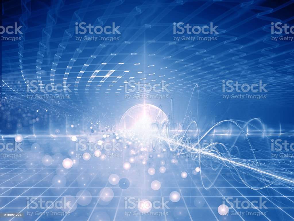 Scientific Modern Background stock photo