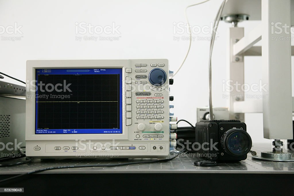 Scientific Research Equipments stock photo