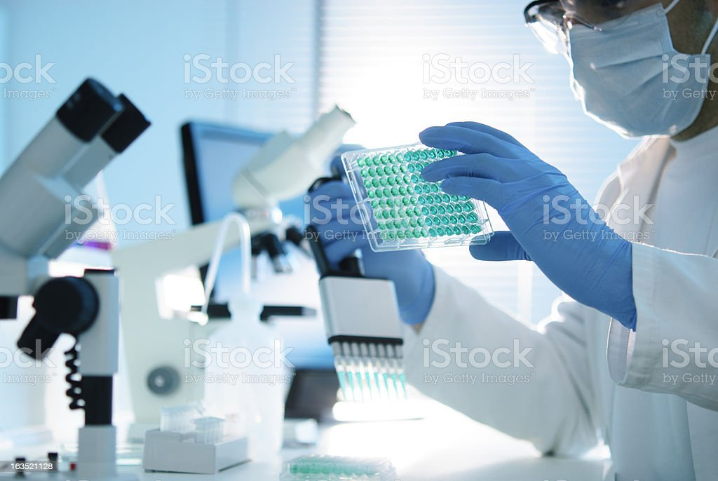 Scientific Research stock photo