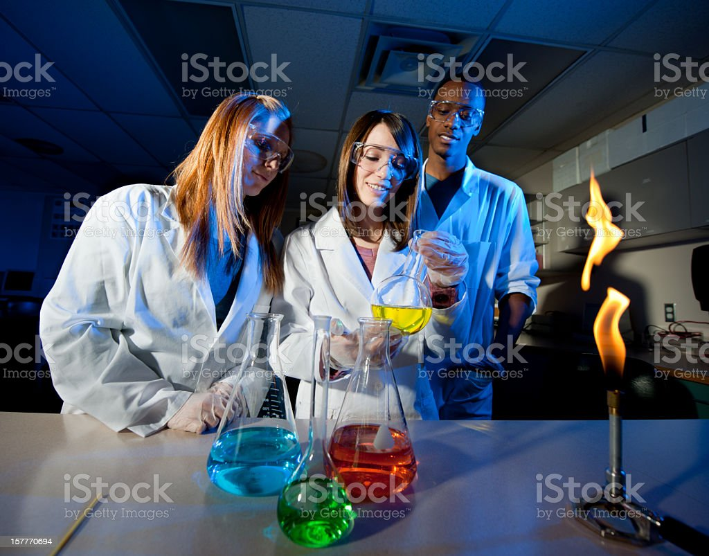 Scientific study. royalty-free stock photo