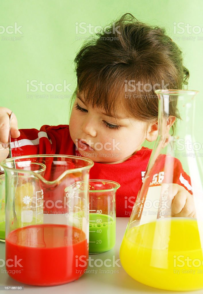 scientific test stock photo