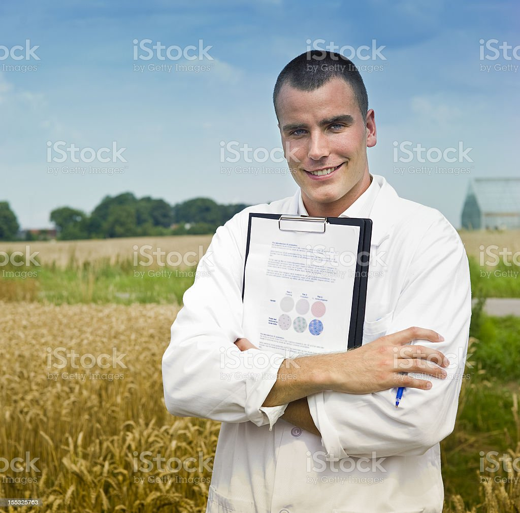 scientist field royalty-free stock photo