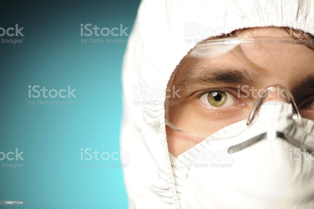 Scientist stock photo