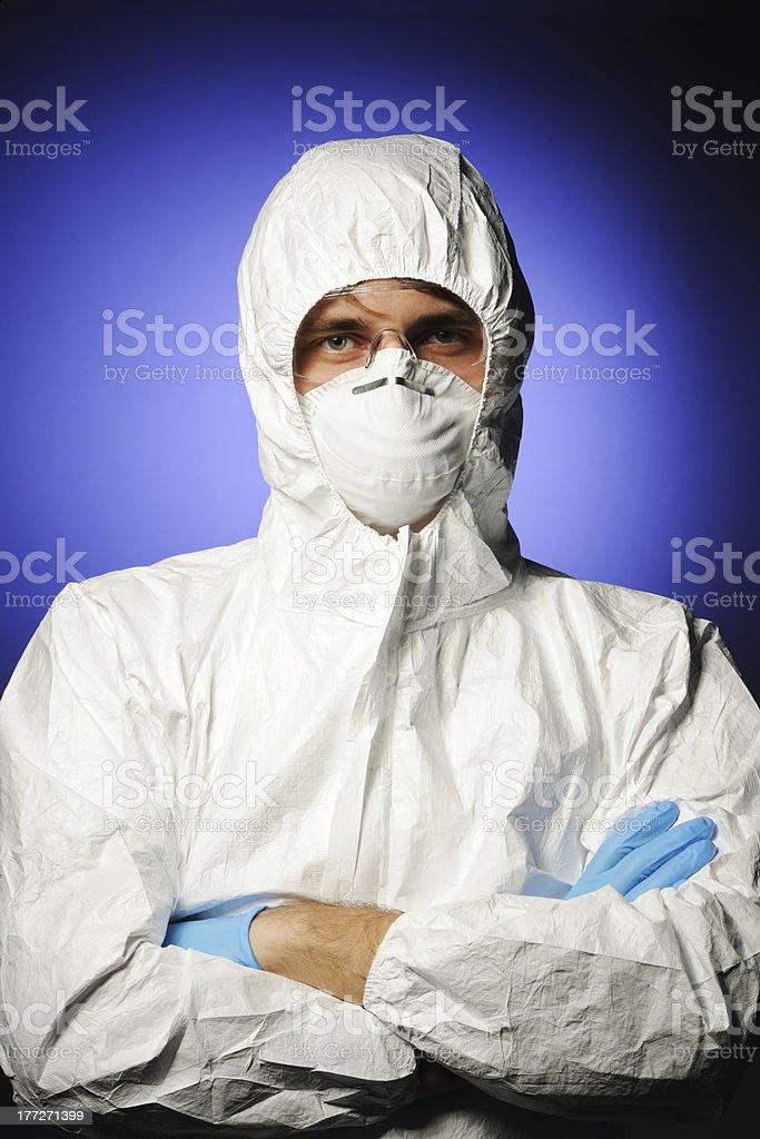 Scientist royalty-free stock photo