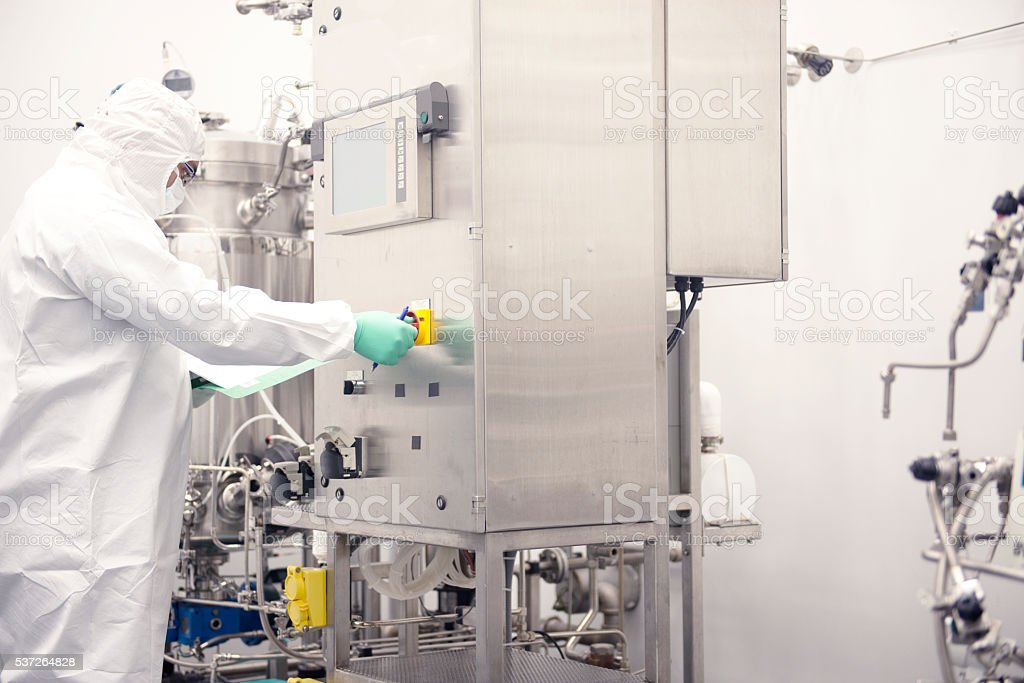 scientist stock photo