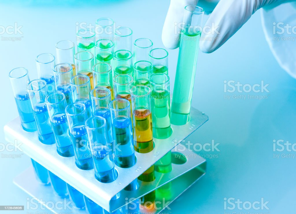 Scientist's Laboratory royalty-free stock photo